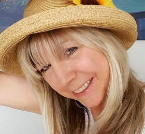 Pamela Poole's Sunflower Hat